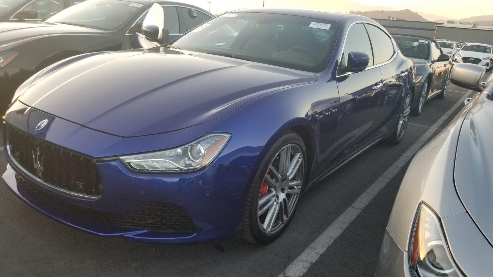 Problem with your Maserati key