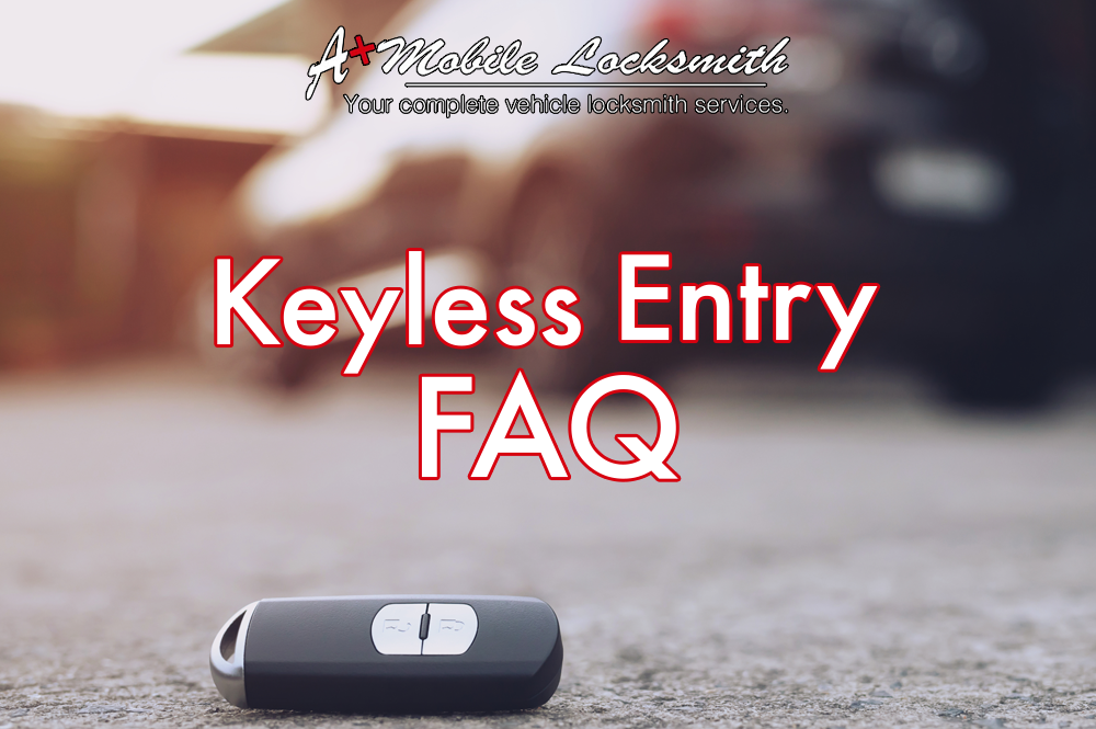 differences between a keyless fob