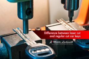 Standard cut car keys vs. laser cut